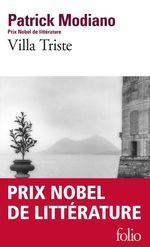 Vente Livre Numérique : Villa triste  - Patrick Modiano