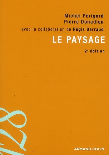 Le paysage (2e édition)