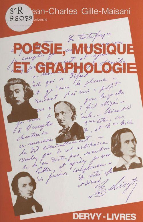 Poesie musique et graphologie