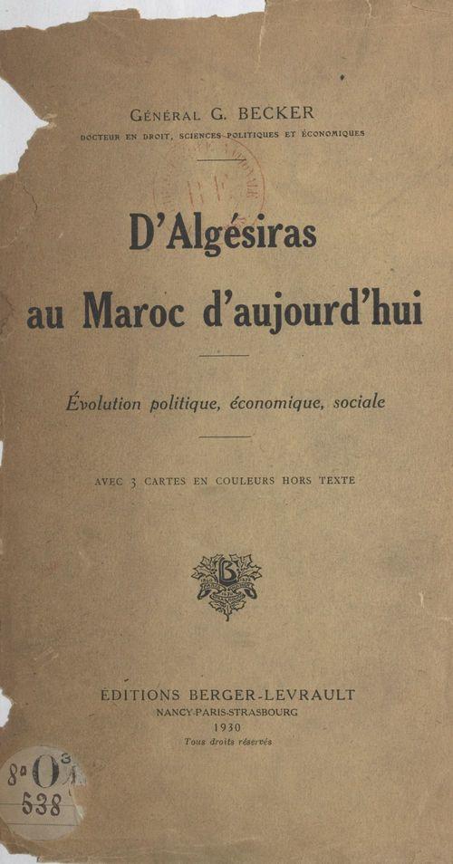 D'Algésiras au Maroc d'aujourd'hui