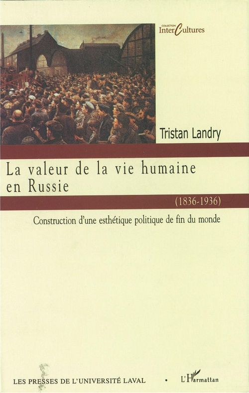 Valeur de la vie humaine en Russie (1836-1936)