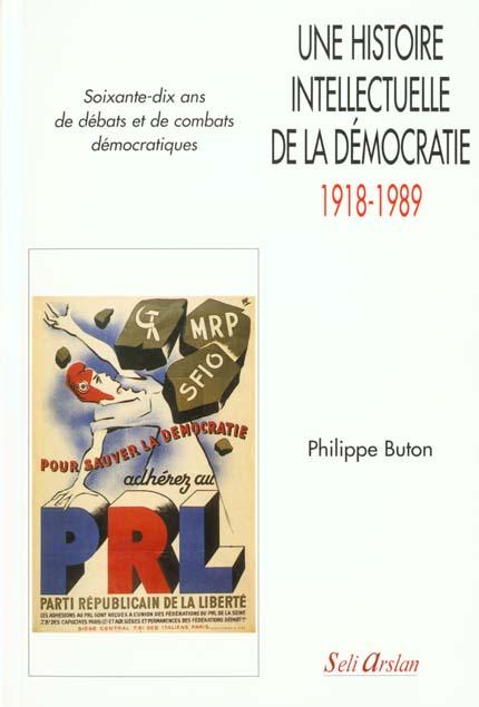 une histoire intellectuelle de la démocratie