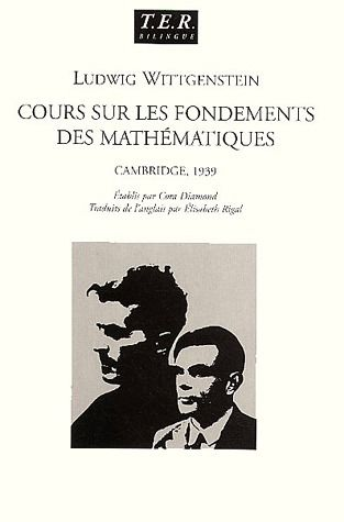 Cours Sur Les Fondements Des Mathematiques ; Cambridge, 1939