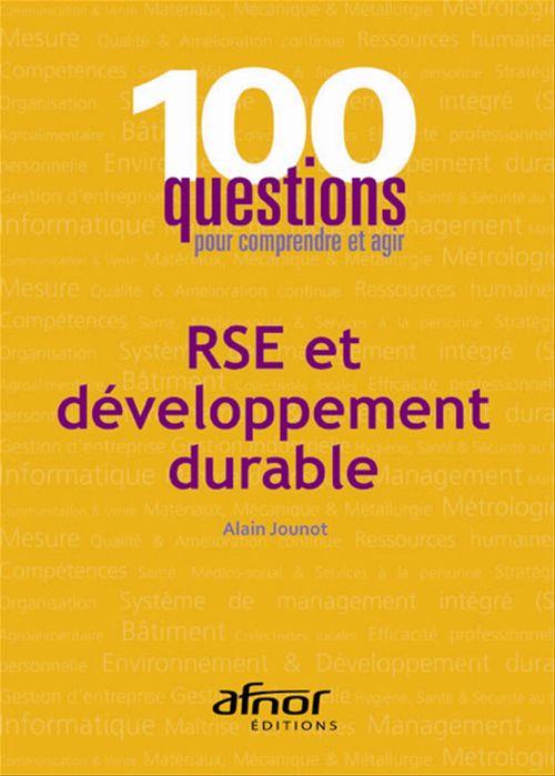 RSE et développement durable