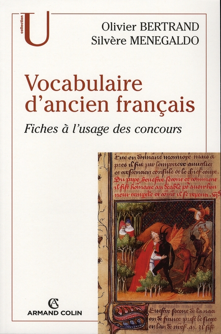 Lexique d'ancien français ; fiches à l'usage des concours