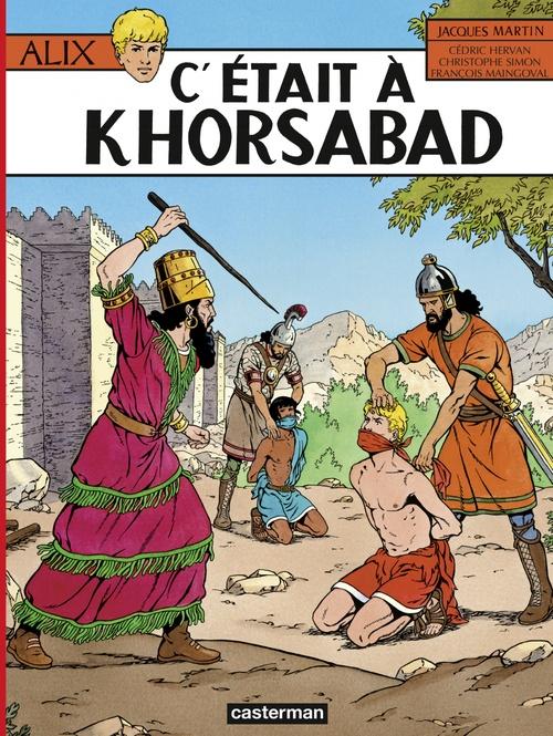 Alix (Tome 25) - C'était à Khorsabad