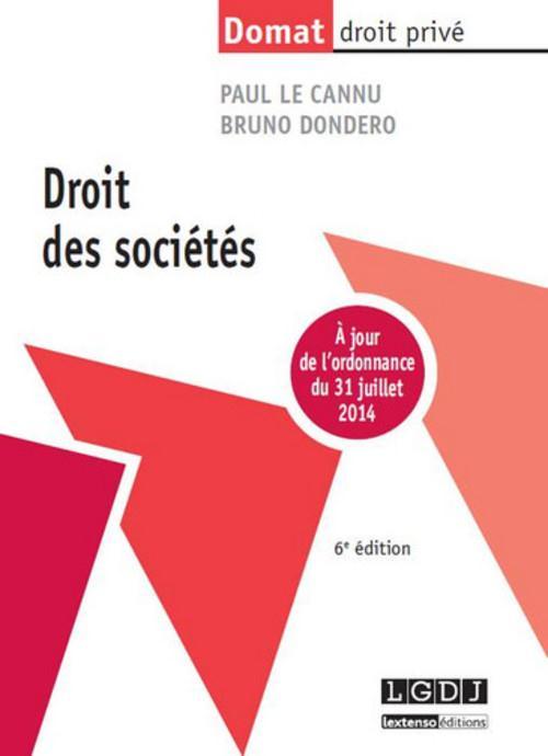 Droit des sociétés (6e édition)