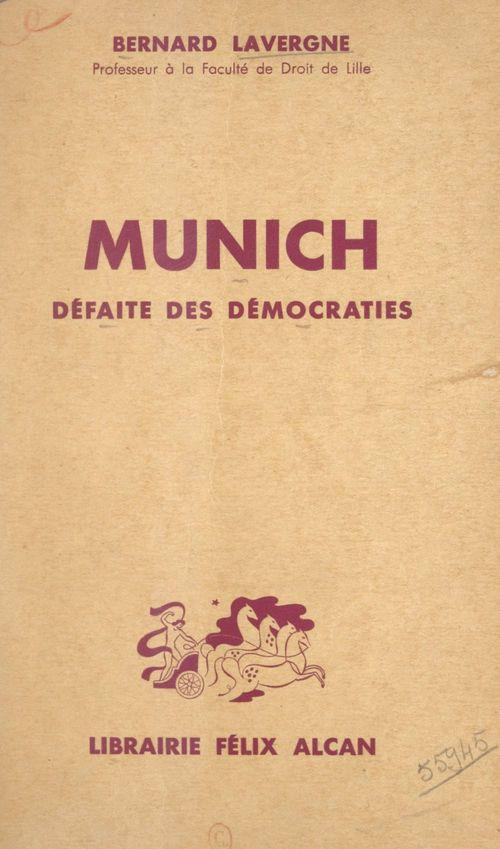 Munich, défaite des démocraties