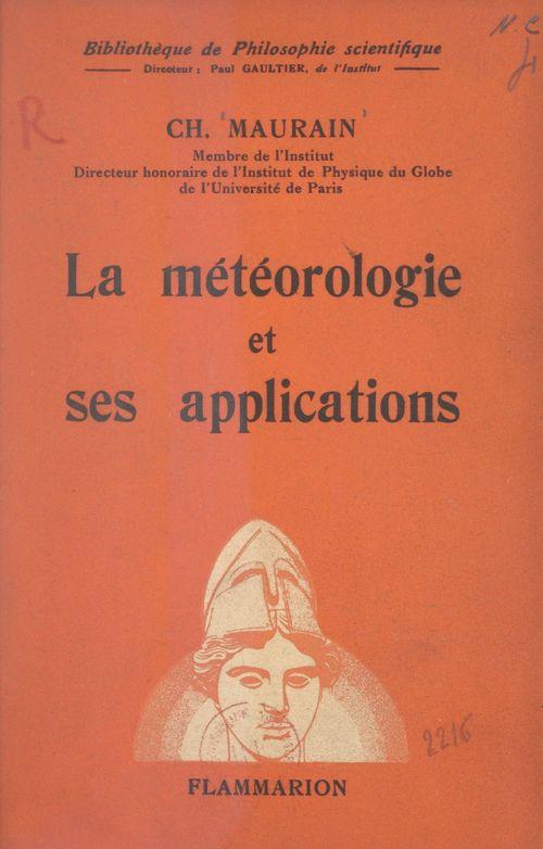 La météorologie et ses applications
