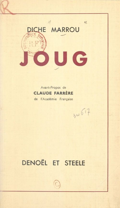 Joug  - Diche Marrou