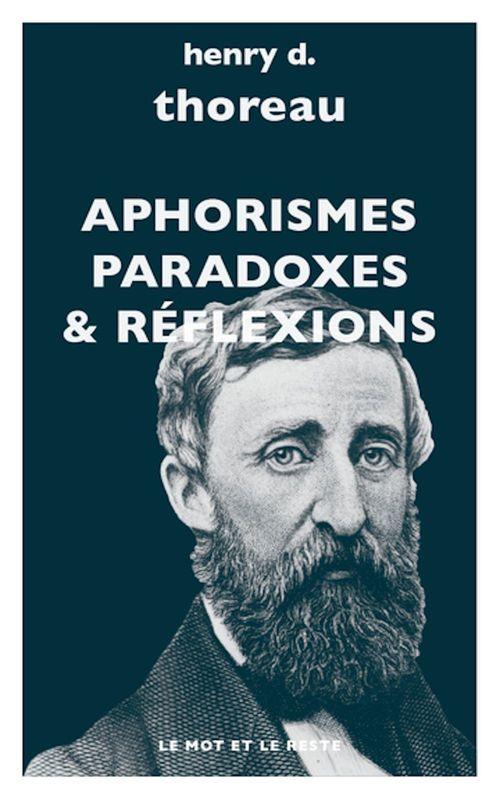 Aphorismes, paradoxes, réflexions