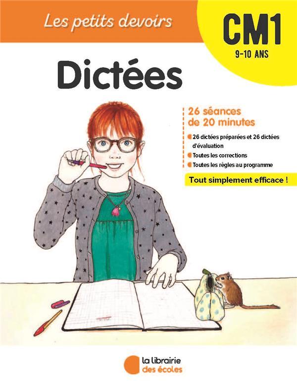 Les petits devoirs ; dictées ; CM1 ; 9/10 ans