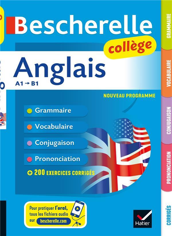 Bescherelle ; anglais collège