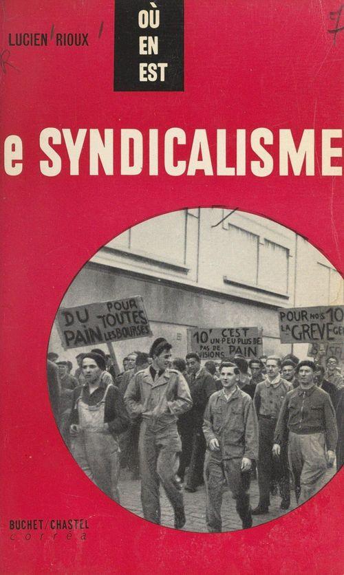 Le syndicalisme