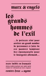 Vente EBooks : Les Grands Hommes de l'exil  - Karl MARX - Friedrich Engels