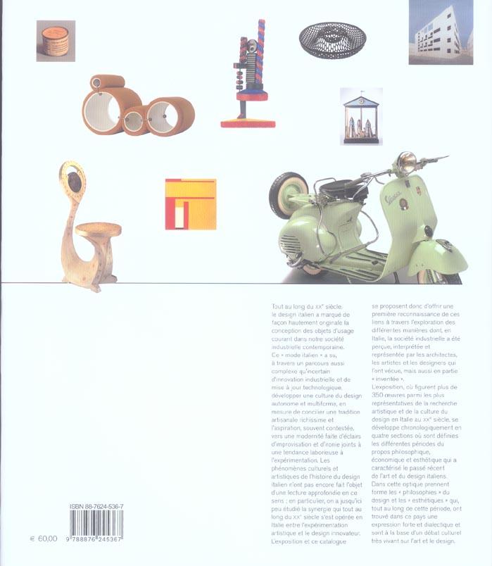 il modo italiano - design et avant-garde en italie au xxe siecle