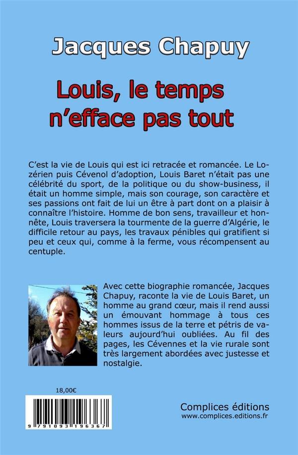Louis, le temps n'efface pas tout