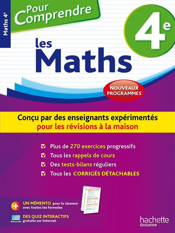 Pour comprendre les maths ; 4e