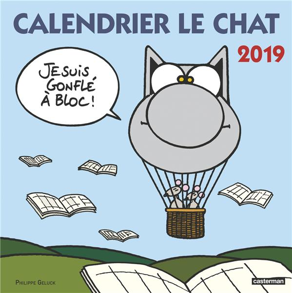 CALENDRIER LE CHAT 2019 GELUCK PHILIPPE