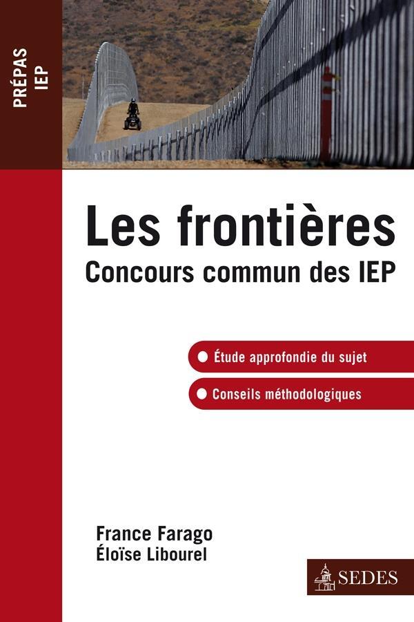 Les frontières ; concours commun IEP