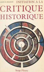 Initiation à la critique historique