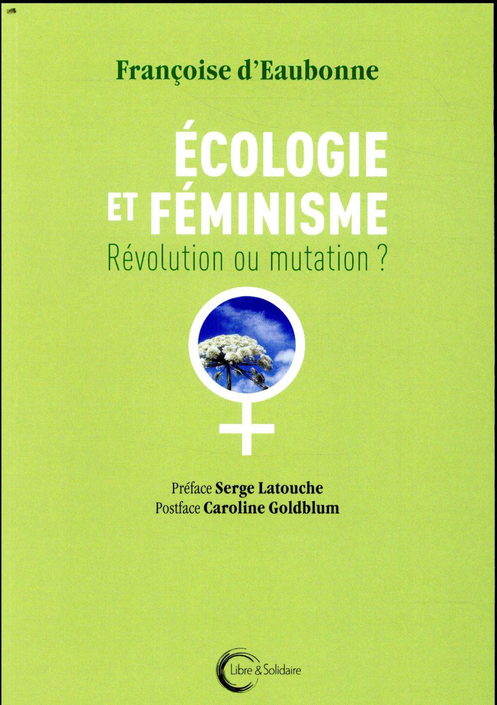 écologie et féminisme ; révolution ou mutation ?