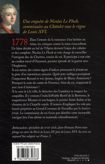Les enquêtes de Nicolas Le Floch T.8 ; le noyé du Grand Canal