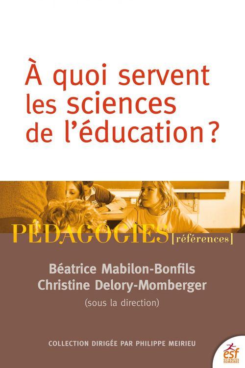 Quel avenir pour les sciences de l'éducation ?