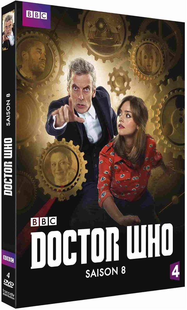 coffret doctor Who, saison 8