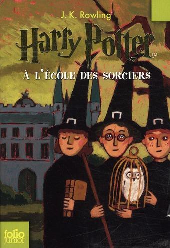 Harry Potter T.1 ; Harry Potter à l'école des sorciers