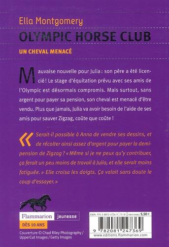 olympic horse club t.3 ; un cheval menacé