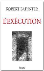 Vente EBooks : L'Exécution  - Robert Badinter