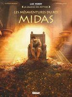 Vente Livre Numérique : Les Mésaventures du roi Midas  - Clotilde Bruneau - Didier Poli - Luc Ferry