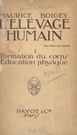 L'élevage humain (1)
