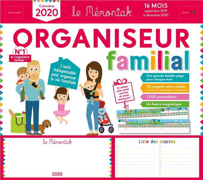 Memoniak ; Organiseur Familial (Edition 2019/2020)