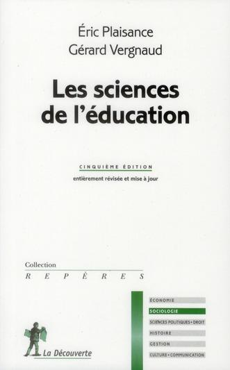 LES SCIENCES DE L-EDUCATION