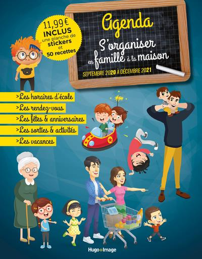AGENDA S'ORGANISER EN FAMILLE (EDITION 20202021)