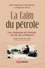 Vente Livre Numérique : La faim du pétrole  - Patrick De Wever - Pascal Breton - Pierre Mauriaud