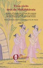 Vente EBooks : Trois récits tirés du Mahabharata  - Guy-R. Vincent