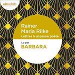 Vente AudioBook : Lettres à un jeune poète  - Rainer Maria RILKE