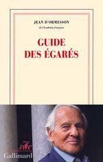 Vente EBooks : Guide des égarés  - Jean d'Ormesson