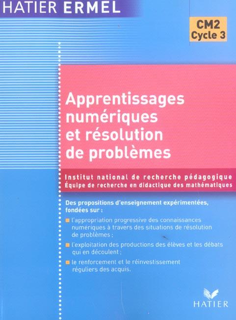 Ermel - Apprentissages Numeriques Et Resolution De Problemes Cm2
