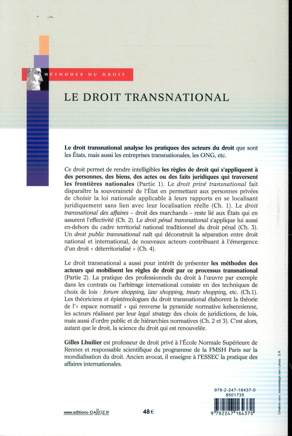 le droit transnational ; introduction aux global law and business