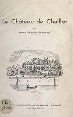 Le château de Chaillot