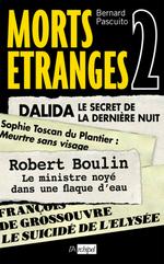 Vente Livre Numérique : Morts étranges 2  - Bernard PASCUITO