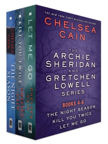 The Archie Sheridan and Gretchen Lowell Series, Books 4-6