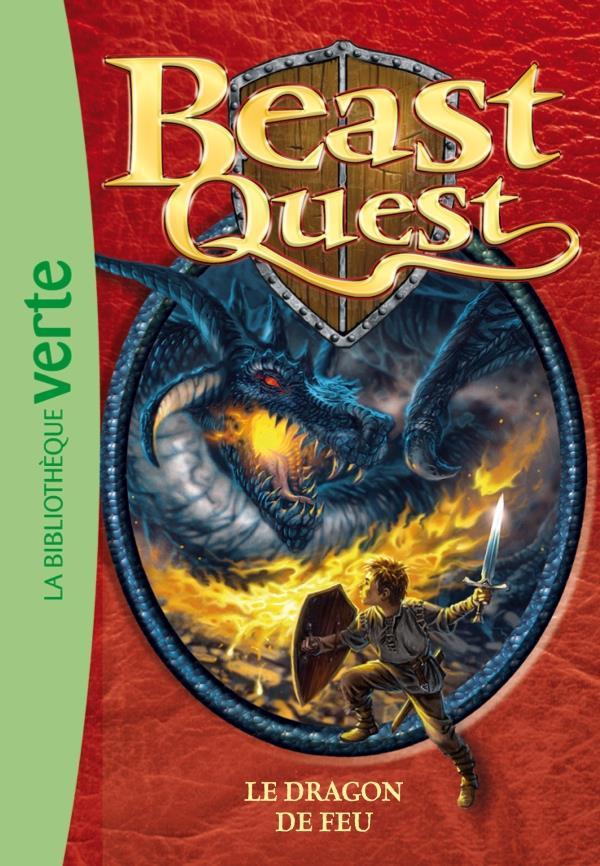 Beast Quest T.1 ; le dragon de feu