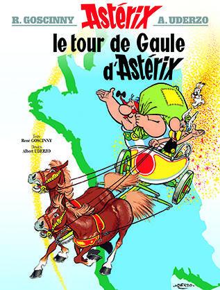 ASTERIX - T05 - ASTERIX - LE TOUR DE GAULE D-ASTERIX - N 5 GOSCINNY/UDERZO