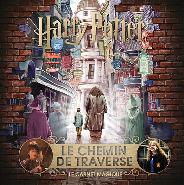 Harry Potter ; le chemin de traverse ; le carnet magique