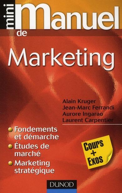 Mini Manuel; De Marketing